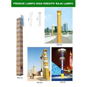 Tiang Lampu Taman Kreatif 47