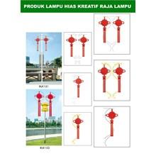 Tiang Lampu Taman Kreatif 52