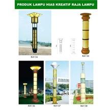 Tiang Lampu Taman Kreatif 58