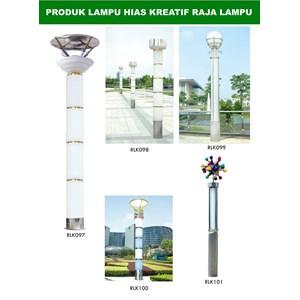 Tiang Lampu Taman Kreatif 61