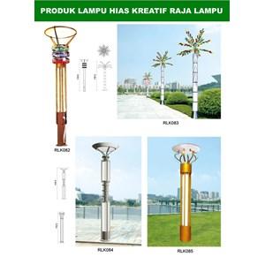 Tiang Lampu Taman Kreatif 67