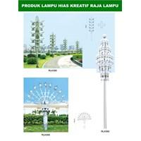 Tiang Lampu Taman Kreatif 72 1