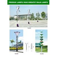 Tiang Lampu Taman Kreatif 74