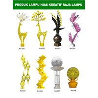 Tiang Lampu Taman Kreatif 81 1