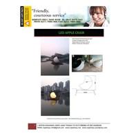 Lampu Hias Dekorasi Taman Model Kursi Bentuk Apel 1