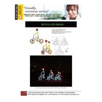Jual Lampu Hias Unik Model Sepeda
