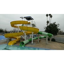 Seluncuran Waterpark Spiral Body Slide