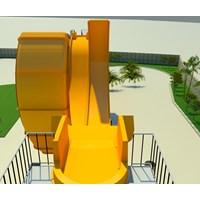 Beli Seluncuran Water Park D-Wave Slide 4