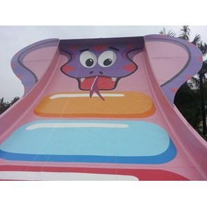 Dari Seluncuran Water Park Mini Turbolance 2