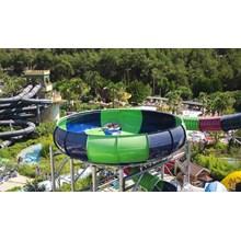 Slide Water Park Space Boat