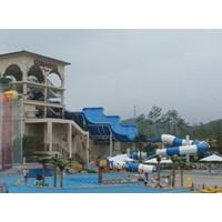 Jual Seluncuran Water Park Tsunami