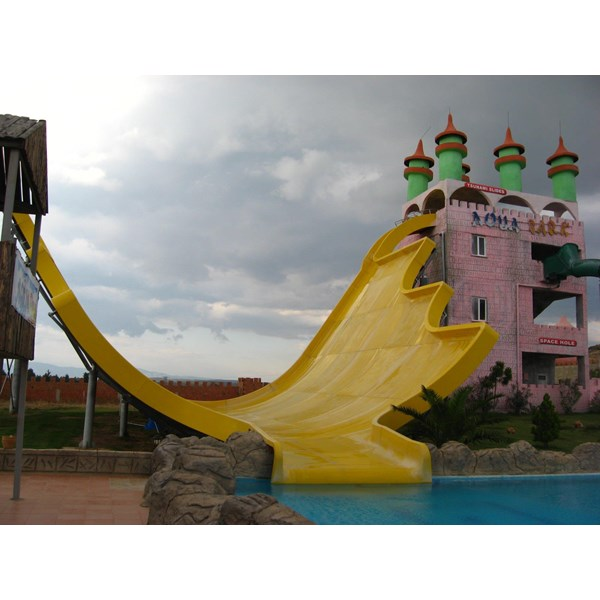 Tsunami Water Park Slide