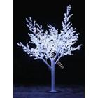 Lampu Hias Motif Bunga Sakura Putih 1