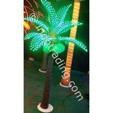 Lampu Hias Pohon Kelapa Mini Hijau