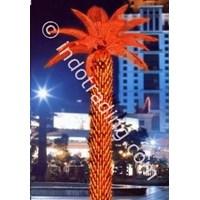 Palm Light Tree Led Red