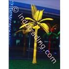 Lampu Hias Pohon Kelapa Medium Kuning 1