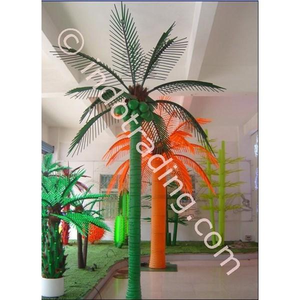 Lampu Hias Pohon Kelapa Besar Hijau