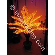 Lampu Hias Pohon Mini Dengan Pot