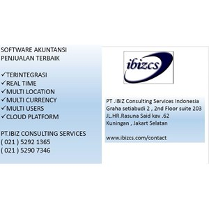 Software Akuntansi Distributor Yang Terintegrasi Multi Users Locations Dan Currency   By PT  Ibiz Consulting Services Indonesia
