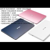 Jual Laptop / Notebook ASUS E203MAH - N4000- 2GB- 500GB- WIN10- 11.6HD