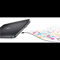 Jual Laptop / Notebook Asus X441BA - AMD A4 9125 - DDR4 4GB - HDD 500GB - DVD - WIN10