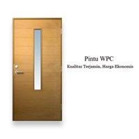 PINTU WPC ROUTER GLASS MURAH