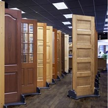 PINTU SOLID WOOD PANEL ANTI RAYAP