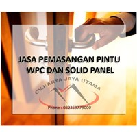 Jual PINTU WPC DUMA ANTI RAYAP MURAH SURABAYA  2