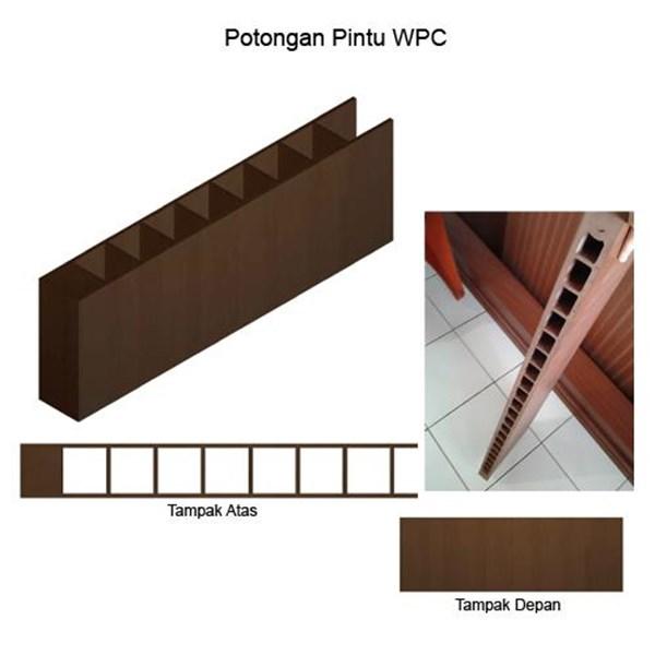 PINTU WPC DUMA ANTI RAYAP MURAH SURABAYA