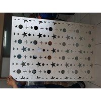 RESIN BOARD PERFORATED