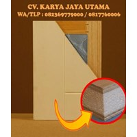pintu sandwich panel plywood murah surabaya