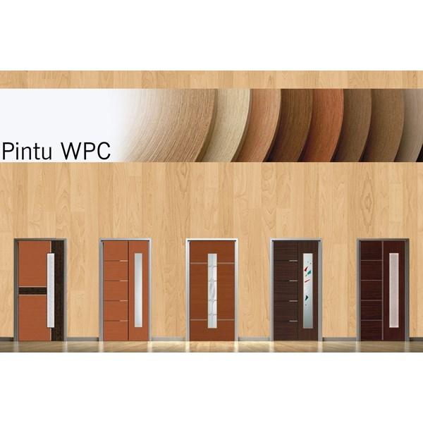 PINTU MINIMALIS WPC