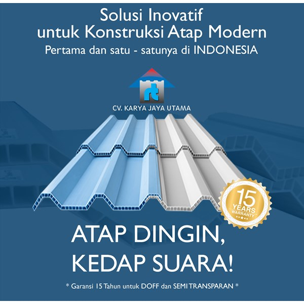 COLD ROOF ROOFTOP UPVC ROOF