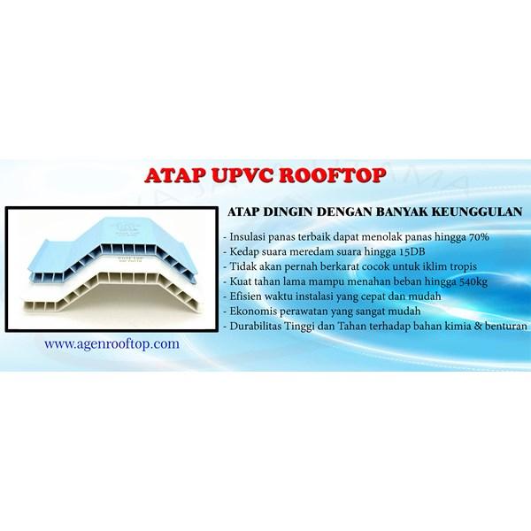 ATAP MURAH UPVC ROOFTOP