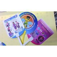Distributor Kipas Promosi PVC Murah 3