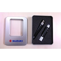 Jual Souvenir Pulpen Pointer USB Senter 2