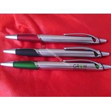 Souvenir Pulpen Promosi Silver Stone Pen