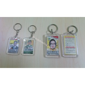 souvenir gantungan kunci acrylic