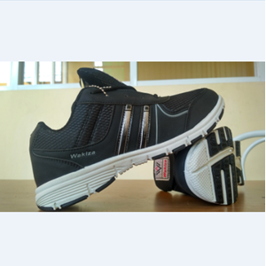 Sepatu Wakiza Nagoya Hitam Putih Hitam