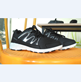Sepatu Wakiza Tokyo Hitam Putih Hitam