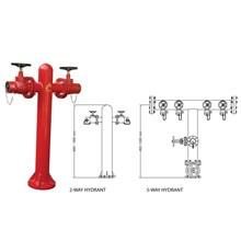 Wet Type Fire Hydrant Pedestal-Type