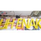 Huruf Timbul Akrilik Branding Mall Signage 3D 1