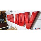 Huruf Timbul Akrilik Branding Mall Signage 3D 2