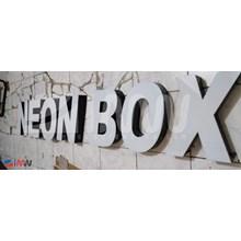 Letter Emboss Acrylic Branding Mall Signage 3D