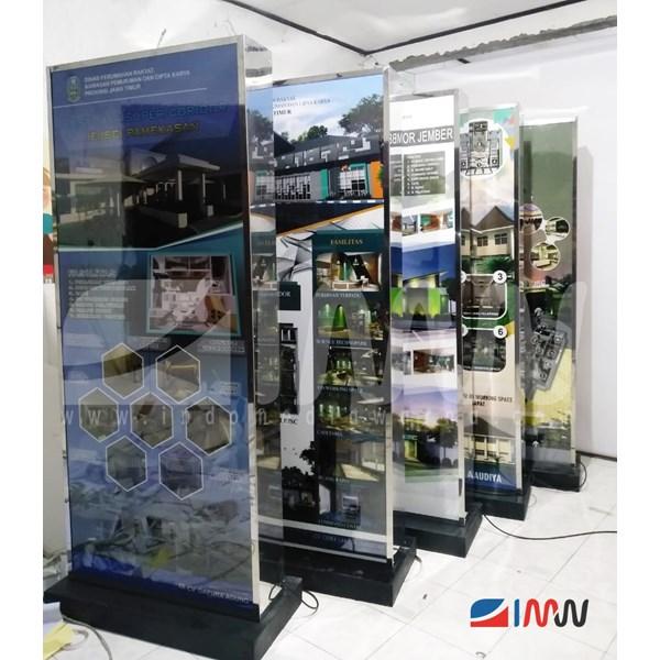Neon Box Berdiri / Standing Light Box / Standing Neon Box