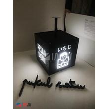 Acrylic Neon Box Cube