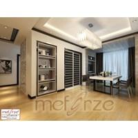 Jual Lantai Kayu Parket MEFORZE Tipe : UG6812CR - Olive Wood