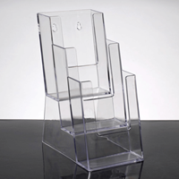 Tier Acrylic Brochure Holder