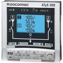 Socomec Front Panel With Digital Display Atys D20