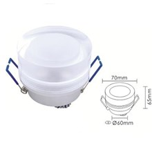 Osc DS-0351 Downligt 1x3w round daylight-warmwhite